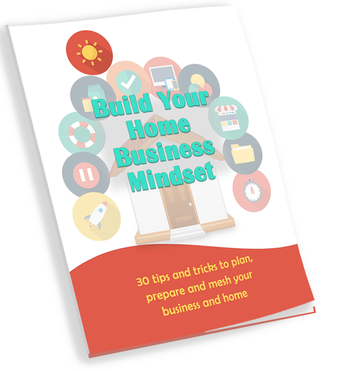 Build Your Home Business Mindset Ebook Cover